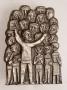 "E.G. Weinert: ""Chor"" - Bronzerelief groß"