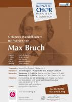 Wandelkonzert mit Werken von Max Bruch in Bergisch Gladbach
