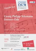 Donner-Ode - Georg Philipp Telemann