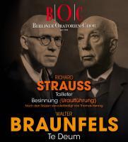 """Walter Braunfels – """"Te Deum"""" / Richard Strauss – """"Taillefer"""""""