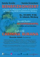 Carl Orff: Carmina burana (Solisten, Chor und Orchester)