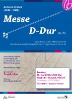 Dvorak Messe D - Dur & Cesar Frank