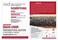 Schöpfung: Bach - Bernstein - Haydn: Die Schöpfung