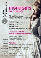 HIGHLIGHTS OF CLASSICS Mit Meisterwerken Rheinischer Komponi
