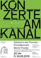 Daheim in der Fremde - Porträtkonzert Bernd Franke