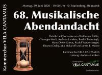 68. Musikalische Abendandacht