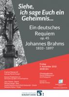 Johannes Brahms - Ein deutsches Requiem op. 45