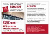 Requiem - Live Konzert Neustart in Corona-Zeiten