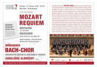 Gedenkkonzert Weiße Rose: Mozart-Requiem