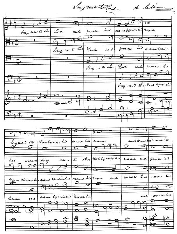 Die Chormusik von Arthur Sullivan